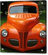 Orange Classic  Acrylic Print