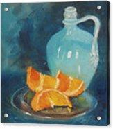Orange Complement Acrylic Print