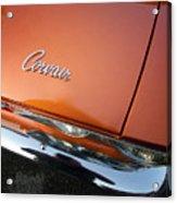 Orange Corvair Acrylic Print