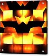 Orange Crown Acrylic Print