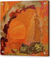 Orange Day Acrylic Print
