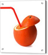Orange Drink Acrylic Print