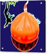 Orange Globe Acrylic Print