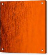 Orange Gradient Acrylic Print