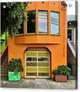 Orange House Acrylic Print