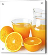 Orange Juice Acrylic Print
