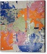 Orange Marmalade And Blueberry Jam Acrylic Print