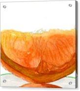 Orange Reflection Acrylic Print