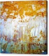 Orange Rim Acrylic Print