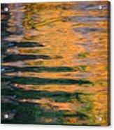 Orange Sherbert Acrylic Print
