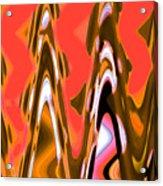 Orange Skies Acrylic Print