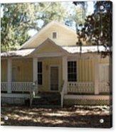Orange Springs Historic Home Acrylic Print