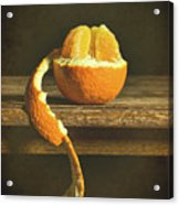 Orange Still Life Acrylic Print
