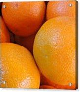 Orange You Glad Acrylic Print