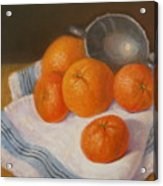 Oranges And Tangerines Acrylic Print