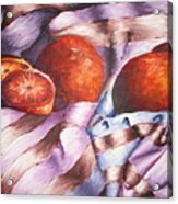 Oranges In A Blanket Acrylic Print