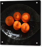 Oranges In Sunlight Acrylic Print