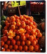 Oranges Acrylic Print