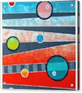 Orbs On Planes #2 Acrylic Print