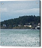 Orcas Island View  Acrylic Print