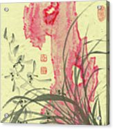 Orchid - 30 Acrylic Print