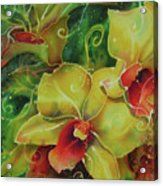 Orchid Series 11 Acrylic Print