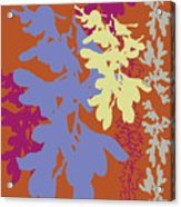 Orchids Caramel Acrylic Print