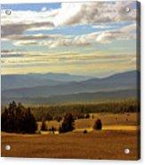 Oregon - Land Of The Setting Sun Acrylic Print