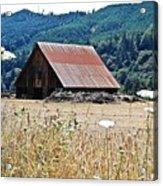 Oregon Barn Acrylic Print