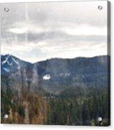 Oregon Cascade Range Landscape Acrylic Print
