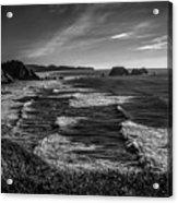 Oregon Coast At Sunset Acrylic Print