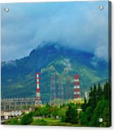 Oregon Columbia River - River View Acrylic Print