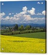 Oregon Countryside Acrylic Print