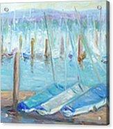 Oregon Harbor Acrylic Print by Barbara Anna Knauf
