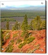 Oregon Landscape - View From Lava Butte Acrylic Print