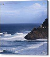 Oregon Lighthouse Acrylic Print