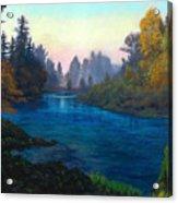 Oregon Santiam Landscape Acrylic Print