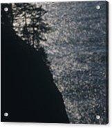 Oregon Silhouette Acrylic Print