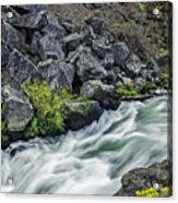 Oregon's Dillon Falls Acrylic Print