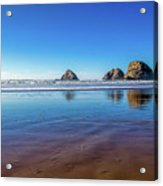 Oregons Rocky Coast Acrylic Print