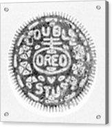 Oreo In Negetive Acrylic Print