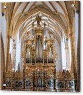 Organ Of The Gothic-baroque Church Of Maria Saal Acrylic Print