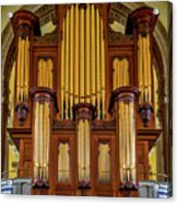 Organ Pipes Acrylic Print