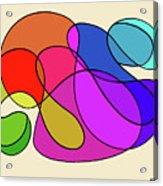 Organic Kaleidoscope Acrylic Print
