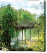Orient - Bridge - Chinese Bridge  Acrylic Print