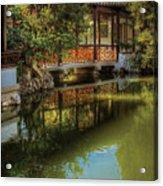 Orient - Bridge - The Chinese Garden Acrylic Print