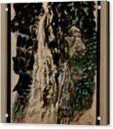 Oriental Falls Acrylic Print