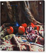Oriental Still Life Acrylic Print
