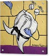 Oriental Tooth Acrylic Print