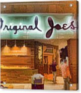 Original Joe's Dynamic  Acrylic Print